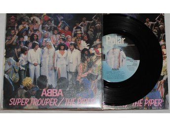 "ABBA Super Trouper 7"" (Polar)"