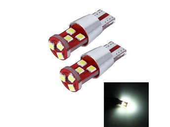 LED lampa T10 9W 800 LM 9 SMD-3030 Canbus - 2Pack