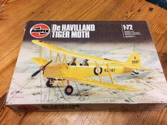 Airfix De Havilland Tiger Moth.    1/72