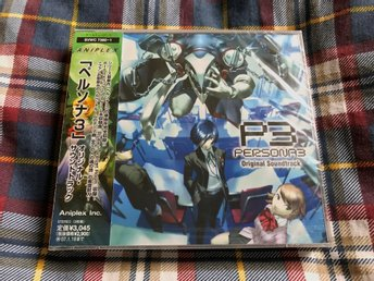 Persona 3 Original Sountrack - Musik CD