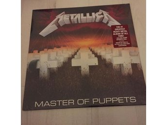 METALLICA - MASTER OF PUPPETS. NEW LP.