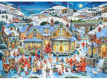 Whitch One´s Santa?  1000 bitar Ravensburger pussel 2017