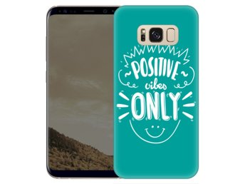 Samsung Galaxy S8 Plus Skal Positive Vibes