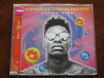 Captain Hollywood Project - Flying High CD Single 1994 90-talet retro