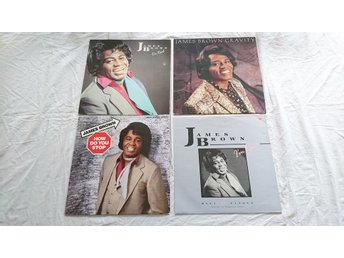James Brown - Paket 2 LP och 2 Maxisinglar
