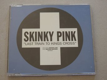 Skinky Pink Last Train to Kings Cross CD Singel Promo Ex. 1998