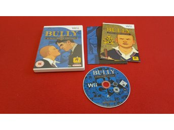 BULLY SCHOLARSHIP EDITION till Nintendo Wii