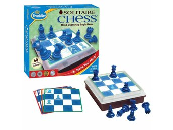 Thinkfun Hjärnfängslande logikspel Solitaire Chess 543400
