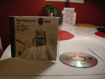 Pat Martino - Exit CD Amerikansk utgåva Muse Records Jazz Post Bop