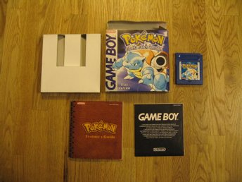 Pokemon Blue - Game Boy - DMG-APEU-EUR