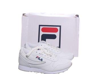 Fila, Sneakers, Strl: 37, Orbit Low Wmn, Vit, Skinn