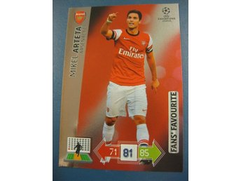 FANS FAVOURITE -  MIKEL ARTETA -  ARSENAL - CHAMPIONS LEAGUE 2012-2013