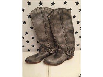 Julklappstips! NY Skinnstövlar stl 38 cowboy vintage Bronx - Sparsör - Julklappstips! NY Skinnstövlar stl 38 cowboy vintage Bronx - Sparsör