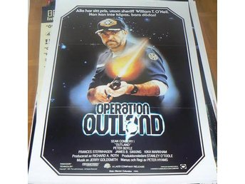 "SEAN CONNERY ""OPERATION OUTLAND"", 70 x 100 cm"
