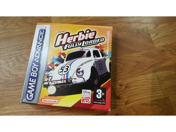 HERBIE FULLY LOADED GBA