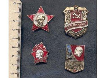 Ryssland 4 politikal pins +6 sport politikal pins, p18,10w - Estonia Estland - Ryssland 4 politikal pins +6 sport politikal pins, p18,10w - Estonia Estland