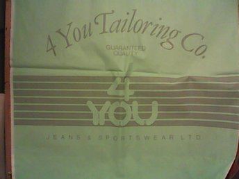 Plastpåse, 4 You Tailoring Co, Norge
