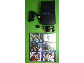 Playstation 2 konsol paket med 6 spel PS2 basenhet playstation - Västerhaninge - Playstation 2 konsol paket med 6 spel PS2 basenhet playstation - Västerhaninge