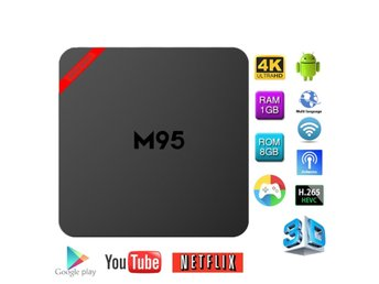 MINI M95 Android 6.0 Amlogic S905X TV Box Med Tangentbord