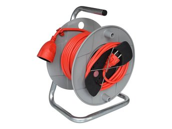 Cable reel AK 260 G 20 m H05VV-F 3G1,5 singularly boxed