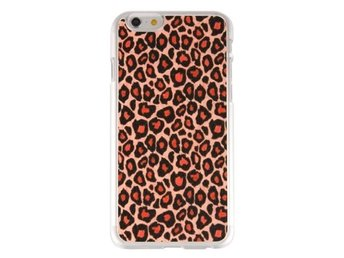 iPhone 6 Leopardmönster Skal