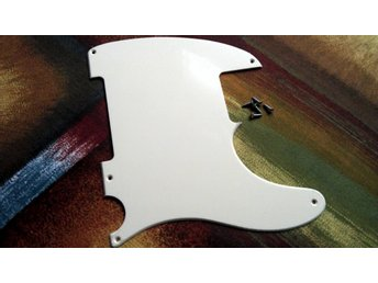 Repro Esquire Guitar Pickguard Plektrumskydd för Telecaster Fender Rock Country