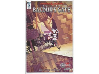 Dungeons & Dragons: Evil at Baldur's Gate # 3 Cover A NM Ny Import