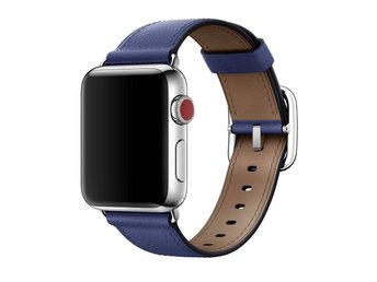 Square Buckle 42mm Apple Watch Armband - (BLUE)