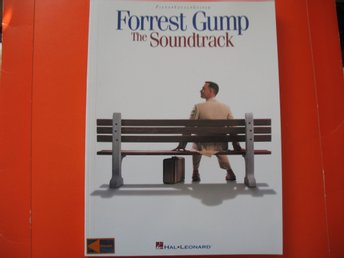 FORREST GUMP THE SOUNDTRACK  PIANO VOCAL GUITAR NOTER TEXTER 128 SID. NYSKICK!!!