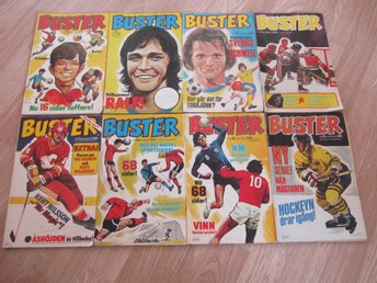 BUSTER  X 8 .