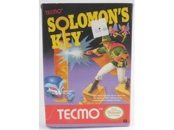 EMPTY BOX - Solomon's Key (box only, no game!) -