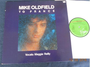 "MIKE OLDFIELD - To France, 12"" Maxi Virgin 1984 Tyskland"