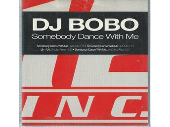 DJ BOBO - SOMEBODY DANCE WITH ME  (CD MAXI/SINGLE )