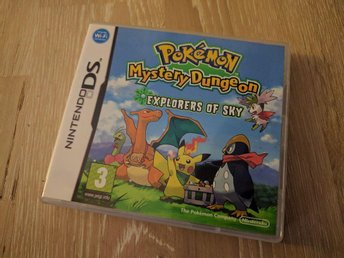 Nintendo DS spel -  pokemon mystery dungeon - explorers of the sky