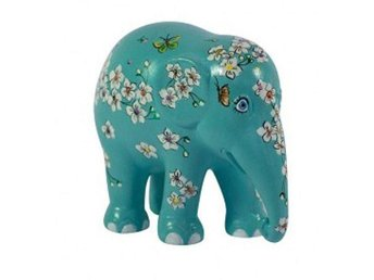 "Unik Handmålad Elefant Prydnad, H 30cm ""The Flower of the Mind""/Elephant Parade"