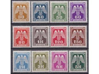 Tredje Riket NSDAP postfrisk serie tjänstemärken original - Södertälje - Tredje Riket NSDAP postfrisk serie tjänstemärken original - Södertälje