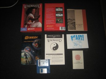 Windwalker från Origin i big box till Amiga