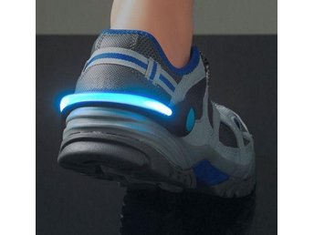 LED belysning till skorna - Syns i mörkret - Knäpps enkelt på skorna - Svart/Blå - Eringsboda - LED belysning till skorna - Syns i mörkret - Knäpps enkelt på skorna - Svart/Blå - Eringsboda