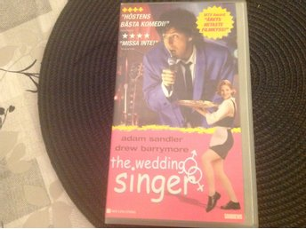 Fynd VHS film The Widding singer