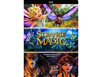 Strange Magic (DVD) - Trollhättan - Strange Magic - ny och inplastad DVD.DVD region 1 (kräver en regionsfri dvdspelare).Engelskt tal. Engelsk text. Widescreen. 99 minuter.***Strange Magic is a music-filled fairy tale about finding true love in the unlikeliest of places. This - Trollhättan