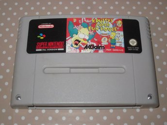Krusty's Super Fun House till Super Nintendo SNES
