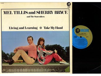 MEL TILLIS AND SHERRY BRYCE - LIVING AND LEARNING - NM