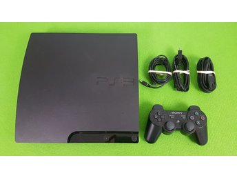 Playstation 3 basenhet 149GB med 1 handkontroll Dual Shock 3 PS3