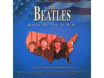 Beatles: Back in the USA (Clear) (Vinyl LP)