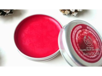 The Body Shop Frosted Cranberry Lip Balm 20 ml Ny/Oöppnad!