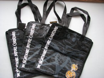 3 st  Nightmare Before Christmas bag väska handväska