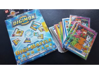 Digimon kort, starter deck och tops