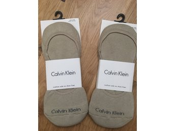 New 2 sets of Calvin Klein unisex cushion sole no show liner, one size 40-46