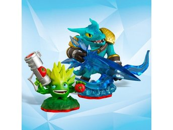 Skylanders Wii PS3 PS4 Figurer TRAP TEAM -  FOOD FIGHT & SNAP SHOT