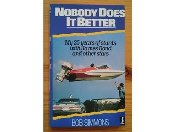 Ian Fleming - James Bond 007 / Nobody Does It Better UK 1st 1987 -Sällsynt OU - Varberg - Ian Fleming - James Bond 007 / Nobody Does It Better UK 1st 1987 -Sällsynt OU - Varberg